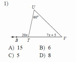 Exterior Angle theorem Worksheet Unique Exterior Angle theorem Worksheets
