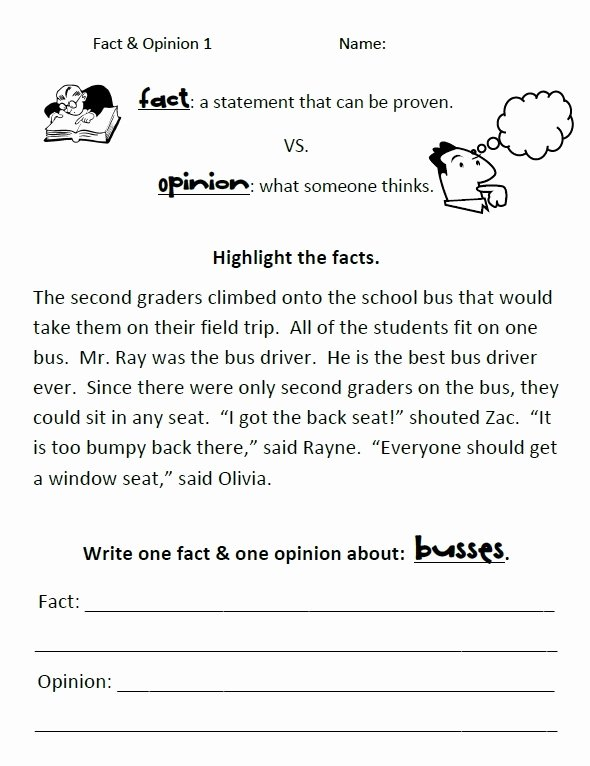 Fact or Opinion Worksheet Awesome 128 Best Images About Fact & Opinion On Pinterest