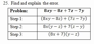 Factor by Grouping Worksheet Elegant Factor by Grouping Worksheet Pdf and Answer Key 25