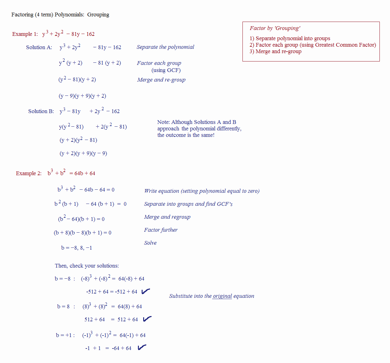 Factor by Grouping Worksheet Inspirational Factor by Grouping Polynomial Factor by Grouping Calculators