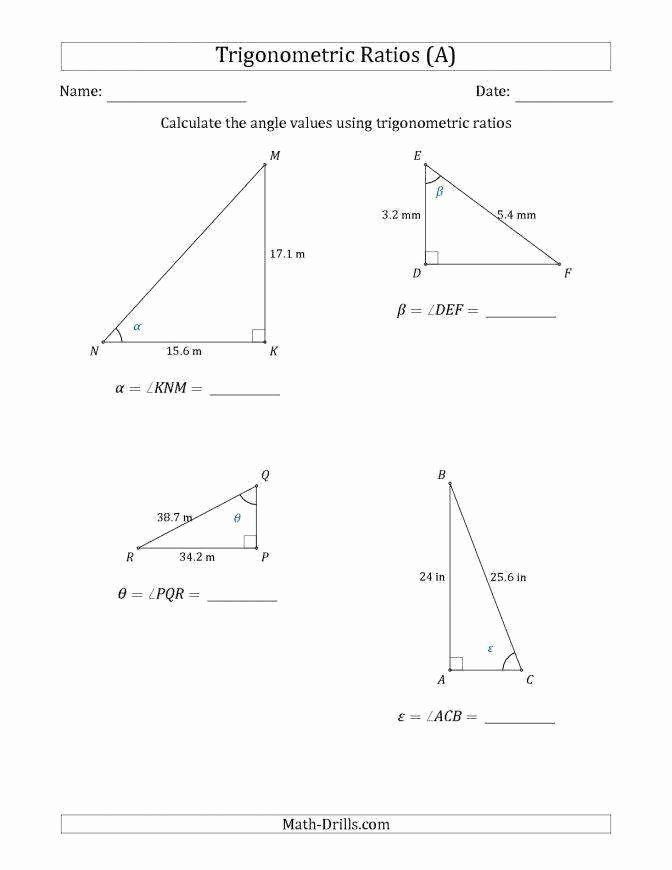 Factoring Ax2 Bx C Worksheet Inspirational sohcahtoa Worksheet
