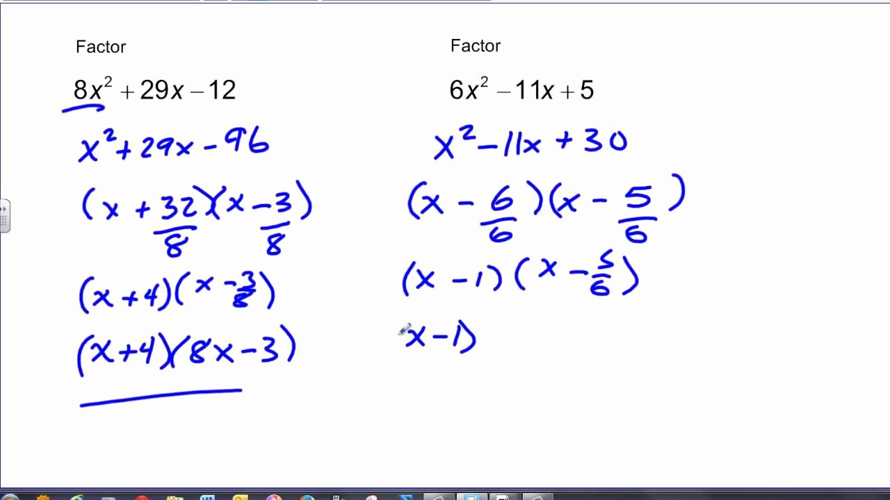 Factoring Ax2 Bx C Worksheet Luxury Lesson 21 1 solving Equations by Factoring X2 Bx C Answers
