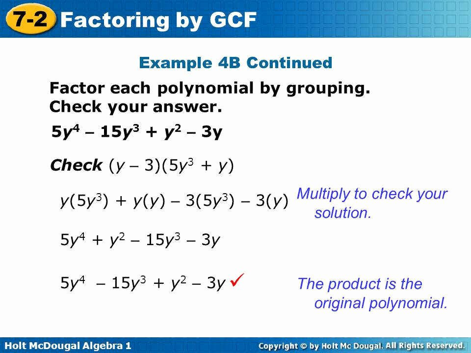 Factoring by Grouping Worksheet New Factor by Grouping Worksheet