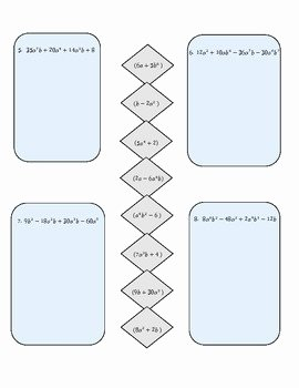 Factoring by Grouping Worksheet New Factoring by Grouping Practice Activity by Christy Plumley