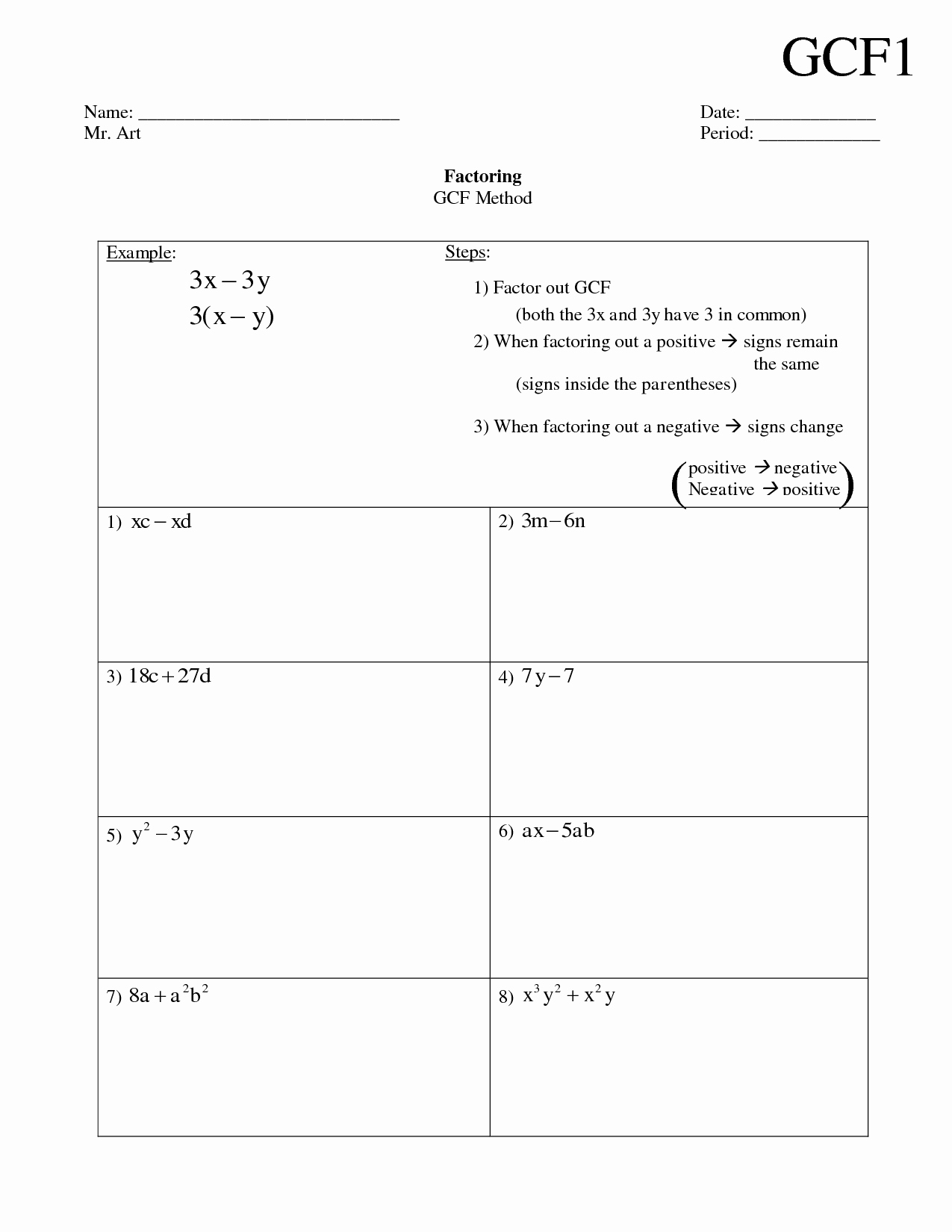 Factoring Greatest Common Factor Worksheet Luxury 17 Best Of Factor Tree Practice Worksheet