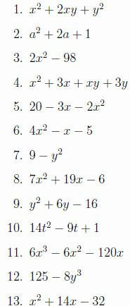 Factoring Polynomials by Grouping Worksheet Inspirational Factoring Worksheet