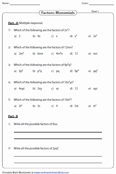 Factoring Polynomials Gcf Worksheet Lovely Factoring Polynomial Worksheets