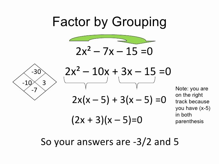 Factoring Quadratic Expressions Worksheet Beautiful Factoring Quadratic Expressions
