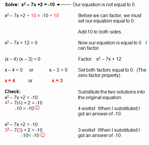 Factoring Quadratic Expressions Worksheet Lovely Factoring Quadratic Equations