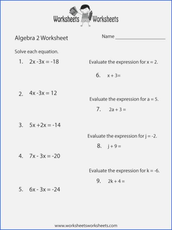 Factoring Quadratics Worksheet Answers Inspirational 22 Factoring Trinomials Worksheet Algebra 2