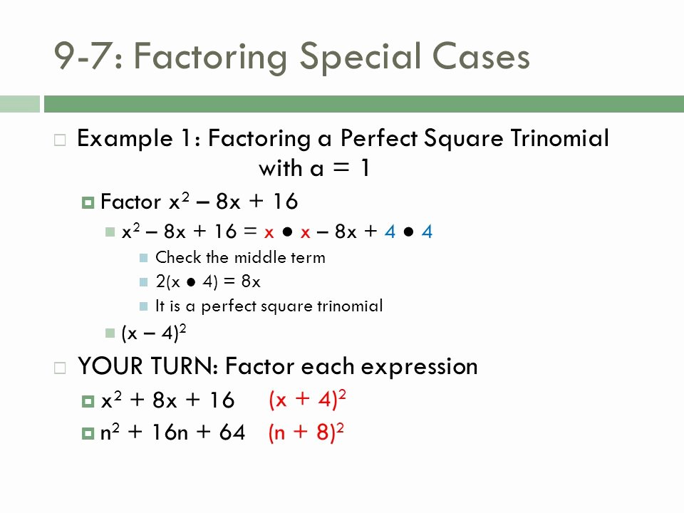 Factoring Special Cases Worksheet Beautiful Factoring Special Cases Worksheet Worksheets for School