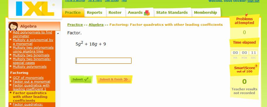 Factoring Special Cases Worksheet Elegant Factoring Trinomials Strickler Wms 8th Grade Math