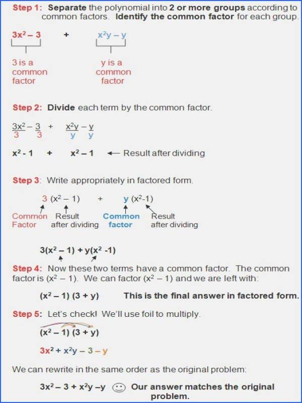 Factoring Trinomials Worksheet Algebra 2 Inspirational 20 Factoring Polynomials Worksheet with Answers Algebra 2