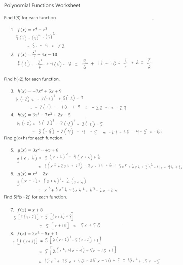 Factoring Worksheet with Answers Fresh 20 Multiplying Polynomials Worksheet Algebra 2
