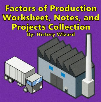 Factors Of Production Worksheet Answers Lovely Factors Of Production Worksheet Notes and Projects