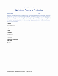 Factors Of Production Worksheet Answers Lovely Studylib Essys Homework Help Flashcards Research