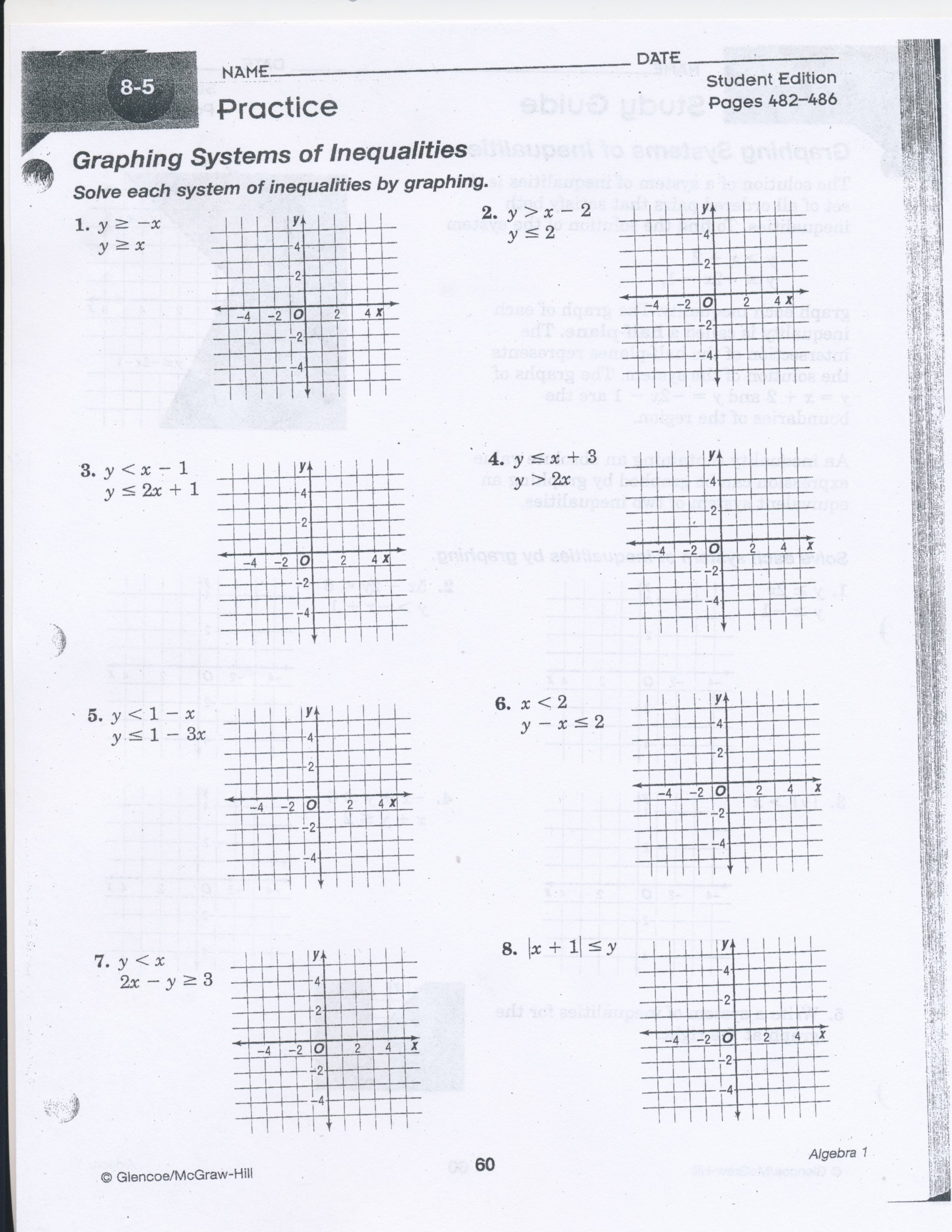 Families Of Functions Worksheet Lovely solving Systems Equations by Graphing Worksheet Answers