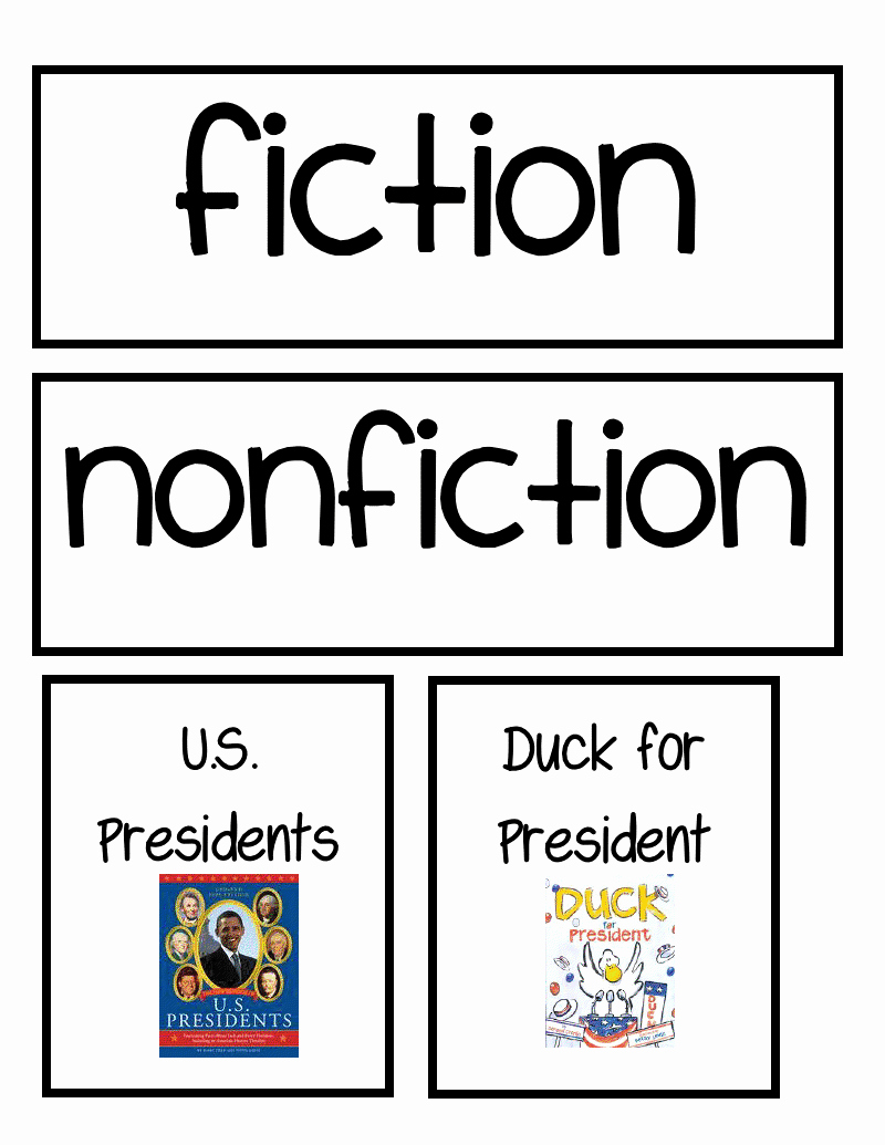 Fiction Vs Nonfiction Worksheet Beautiful Nonfiction First Grade