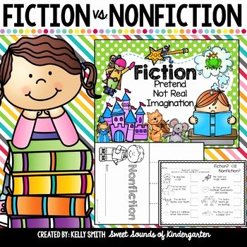 Fiction Vs Nonfiction Worksheet Elegant Fiction Vs Nonfiction Activities Unit by Sweet sounds