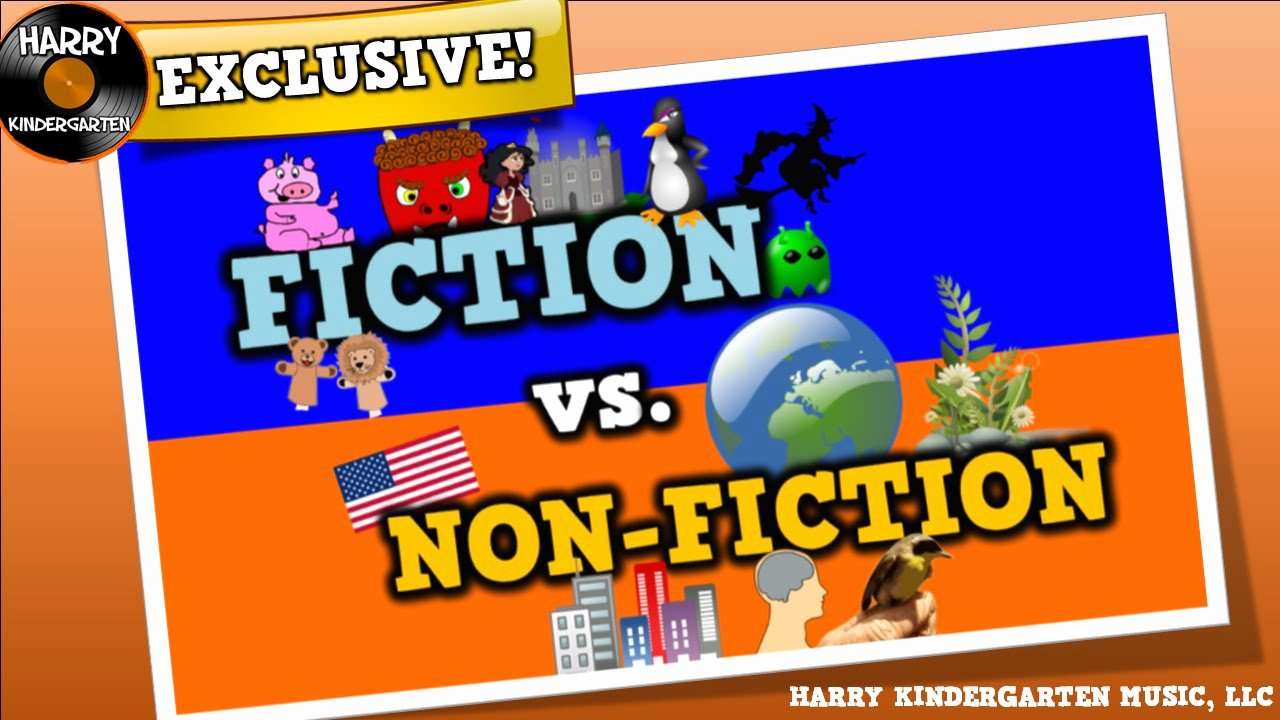 Fiction Vs Nonfiction Worksheet Lovely Fiction Vs Non Fiction song for Kids About