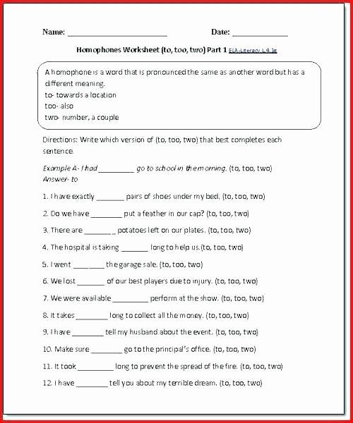 Figurative Language Review Worksheet Elegant 4th Grade Language Worksheets
