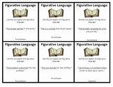 Figurative Language Review Worksheet Elegant Figurative Language Review Worksheets & Teaching Resources