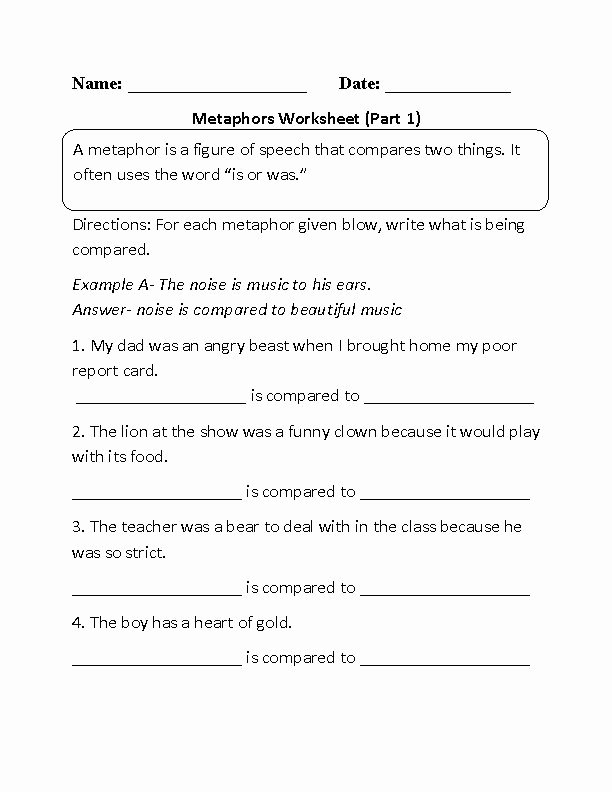 Figures Of Speech Worksheet Beautiful 1000 Images About Figures Of Speech On Pinterest