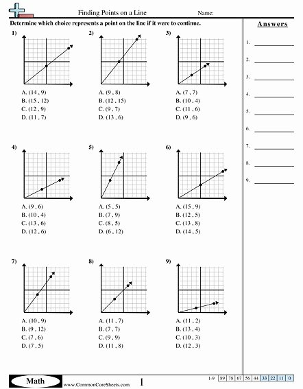 Find the Slope Worksheet Awesome Slope formula Worksheet