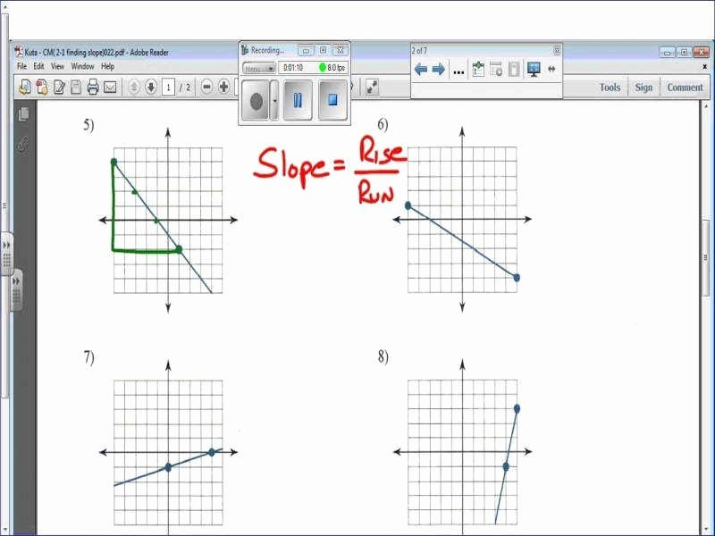 Find the Slope Worksheet Fresh Finding Slope From A Graph Worksheet