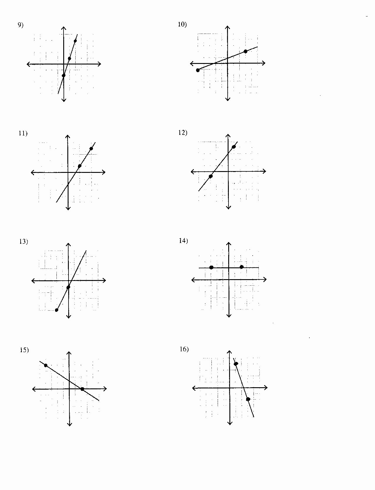 Find the Slope Worksheet Lovely 16 Best Of Mon Core Number Line Worksheet