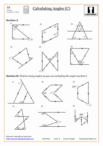 Finding Missing Angles Worksheet Elegant Mixed and Improper Fractions by Anon7476 Teaching