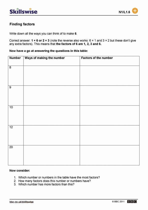 Finding Scale Factor Worksheet Best Of Factor Worksheets