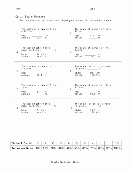 Finding Scale Factor Worksheet Fresh Scale Factors Worksheet for 6th Grade
