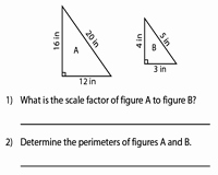 Finding Scale Factor Worksheet Inspirational area and Perimeter Of Similar Figures