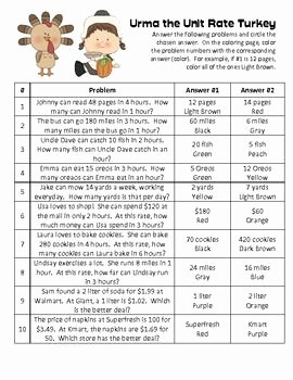 Finding Unit Rates Worksheet Elegant Autumn Word Problems with Unit Rate Proportion Rate