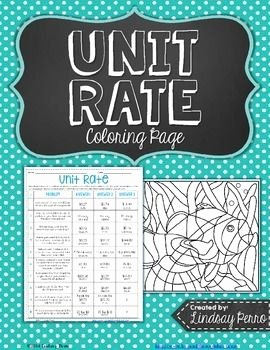 Finding Unit Rates Worksheet New Unit Rate Activity 6 Rp 2