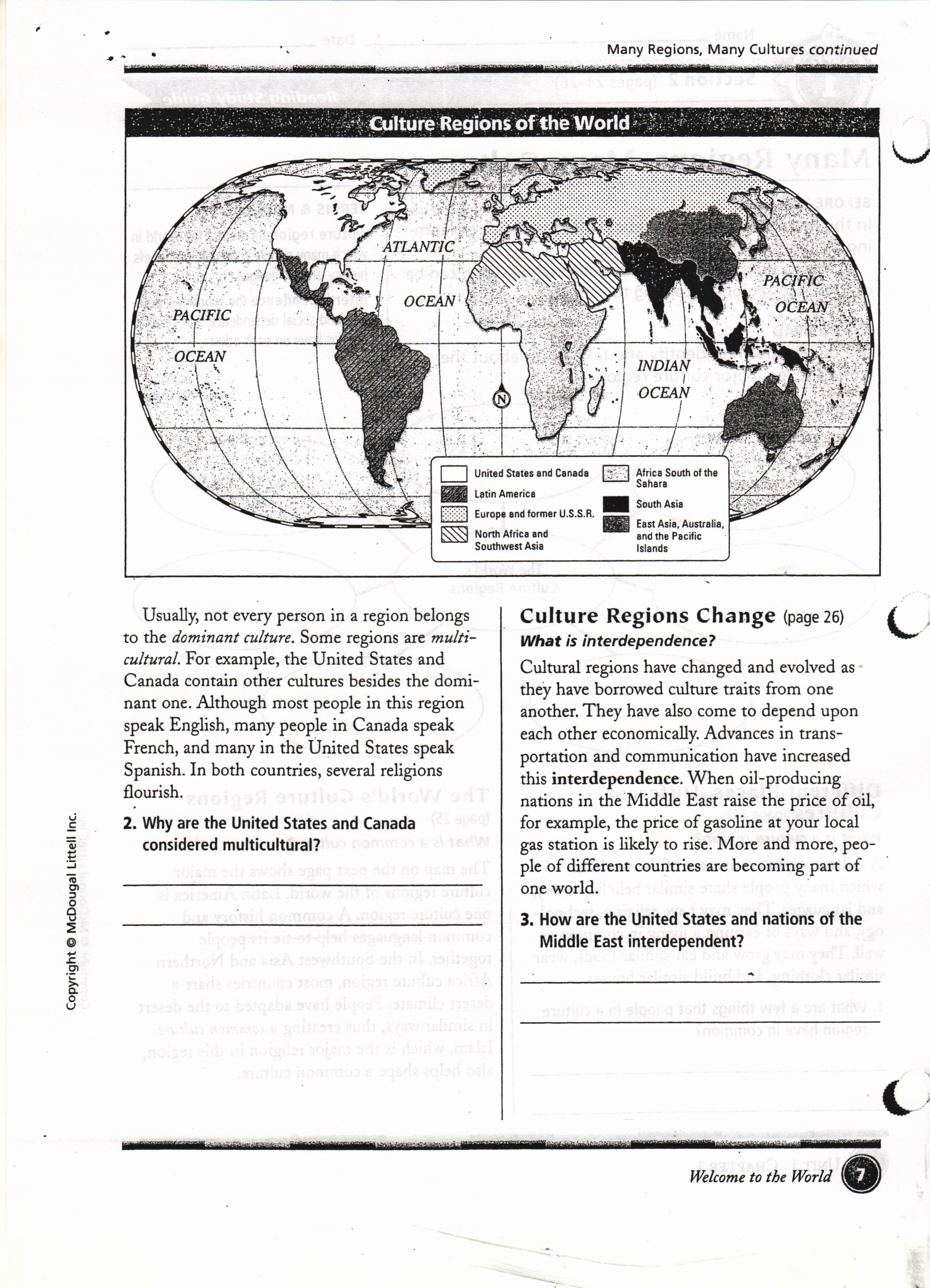 Five themes Of Geography Worksheet Awesome Worksheets Five themes Geography Worksheet