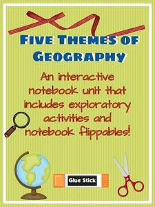 Five themes Of Geography Worksheet Unique Five themes Of Geography 3rd 6th Grade Printables