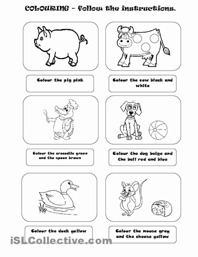 Following Directions Worksheet Kindergarten New Following Directions songs for Preschoolers