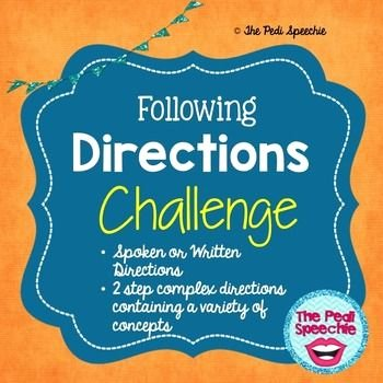 Following Directions Worksheet Middle School Luxury the Sessions Following Directions and Upper Elementary On