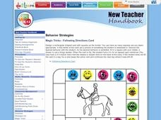 Following Directions Worksheet Trick Unique Following Directions Trick Lesson Plans & Worksheets