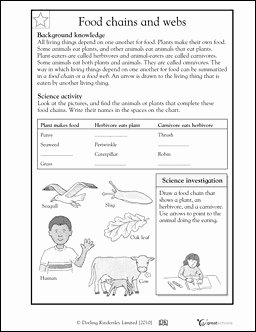 Food Chains and Webs Worksheet Awesome Worksheets & Activities for Spring Break