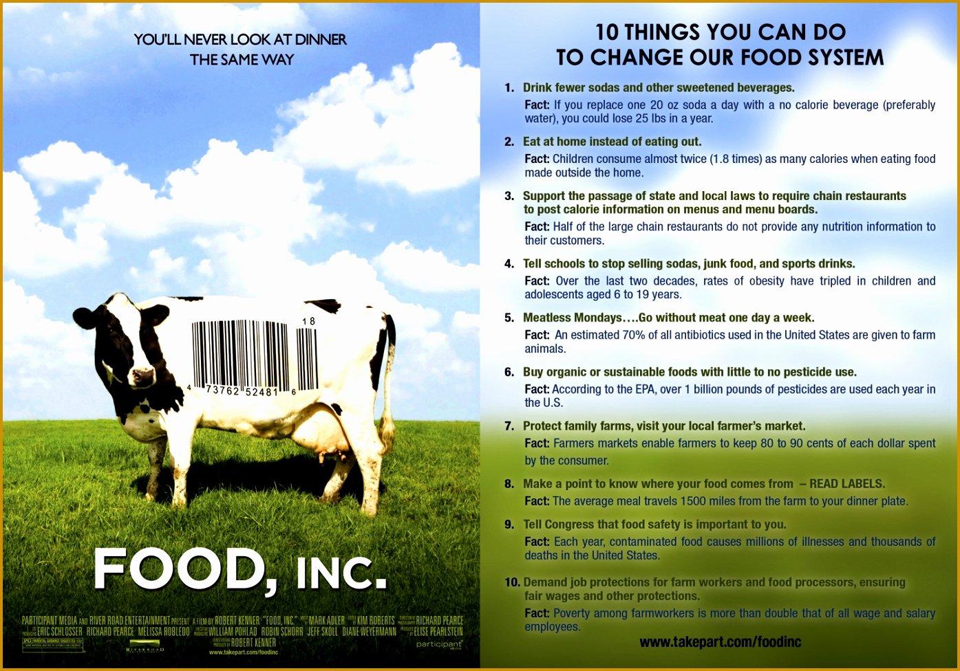 Food Inc Movie Worksheet Answers Luxury 7 Food Inc Movie Worksheet Answers