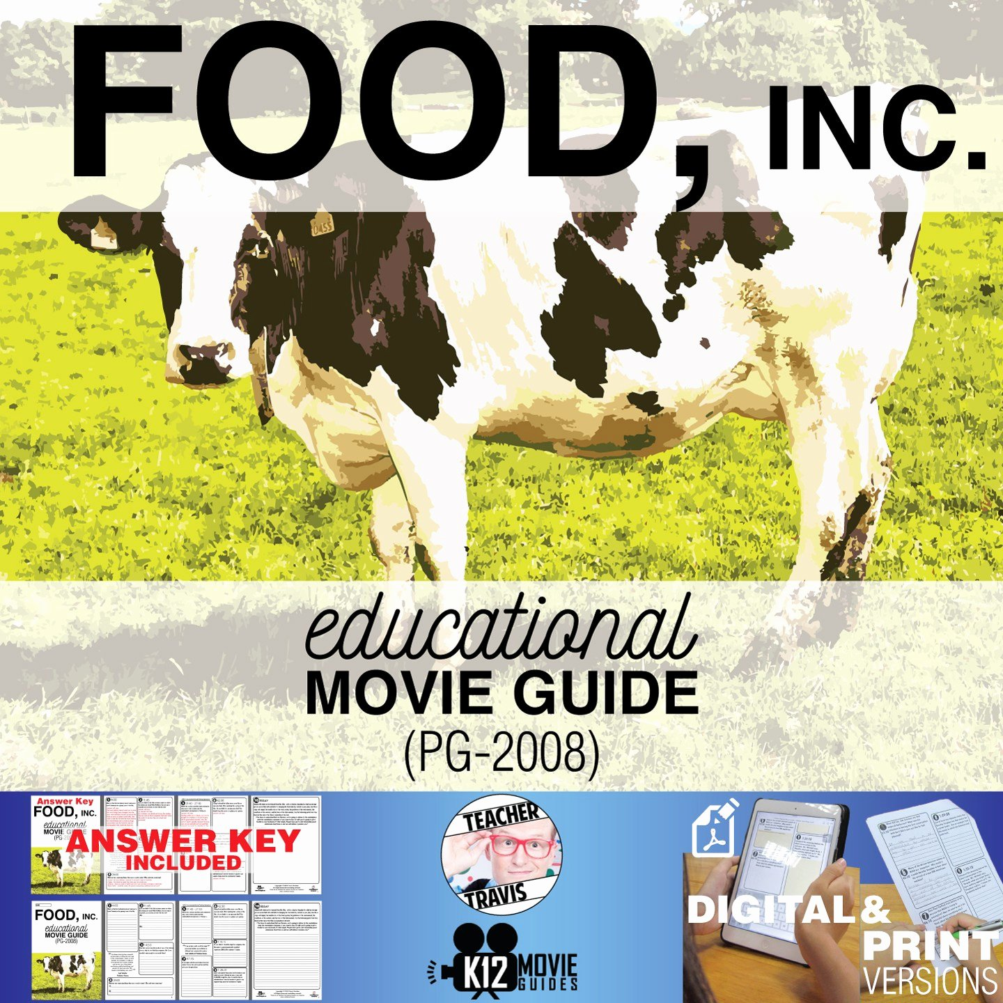 Food Inc Movie Worksheet Luxury Food Inc Movie Guide Questions