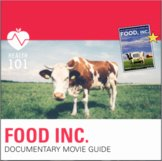 Food Inc Movie Worksheet Luxury Health 101 Teaching Resources
