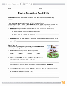 Food Web Worksheet High School Elegant High School Biology Food Web Activity Intellect Behr John
