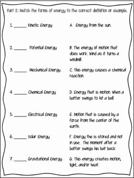 Forces and Motion Worksheet Awesome 4 2 force Motion Energy assessment Science