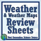 Forecasting Weather Map Worksheet 1 Fresh Weather Map Worksheet Teaching Resources