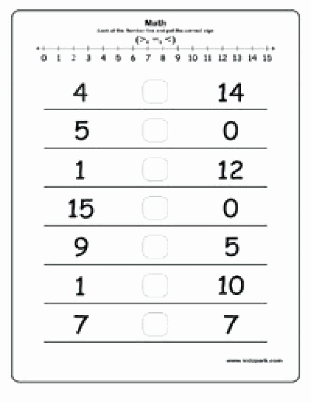 Fractions Greater Than 1 Worksheet Best Of Greater Numbers Worksheets Less Than and Here Lesser to