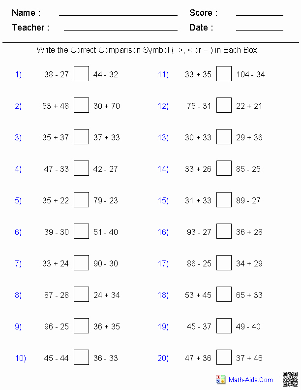 Fractions Greater Than 1 Worksheet Lovely 10 Best Of Greater Than Less Than Fraction